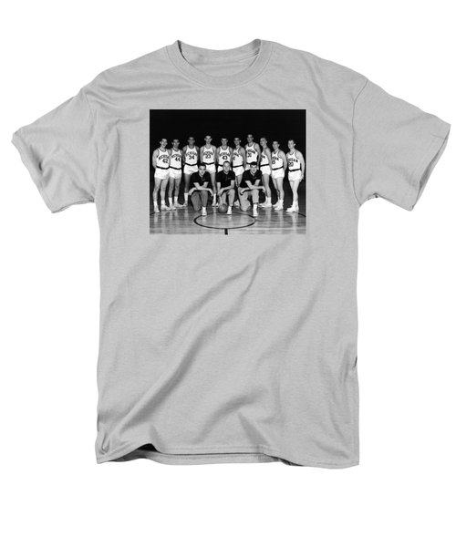 University Of Michigan Basketball Team 1960-61 Men's T-Shirt  (Regular Fit) by Mountain Dreams
