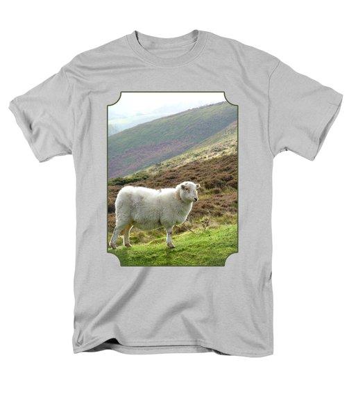 Welsh Mountain Sheep Men's T-Shirt  (Regular Fit) by Gill Billington