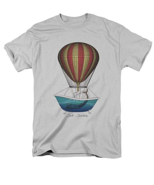 Seek Sanctuary Men's T-Shirt  (Regular Fit) by Galen Valle