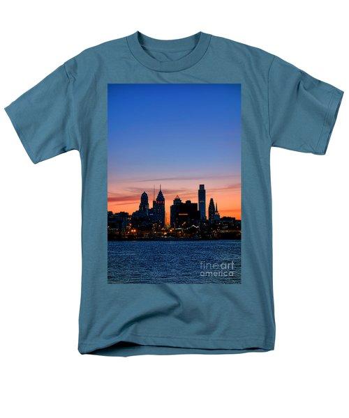 Philadelphia Dusk T-Shirt by Olivier Le Queinec