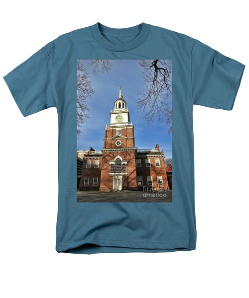 Independence Hall in Philadelphia T-Shirt by Olivier Le Queinec