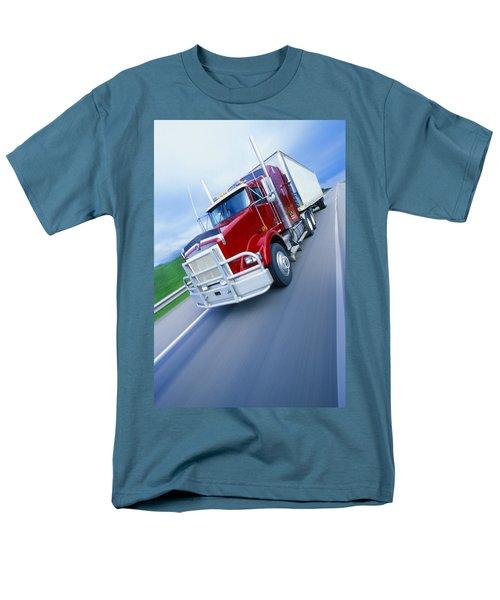 Semi-trailer Truck T-Shirt by Don Hammond