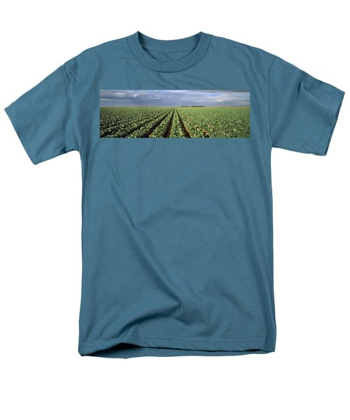 Agriculture - A Field Of Mid Growth Men's T-Shirt  (Regular Fit) by Timothy Hearsum