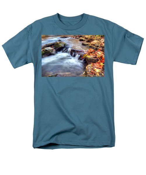 Art for Crohn's HDR Fall Creek T-Shirt by Tim Buisman