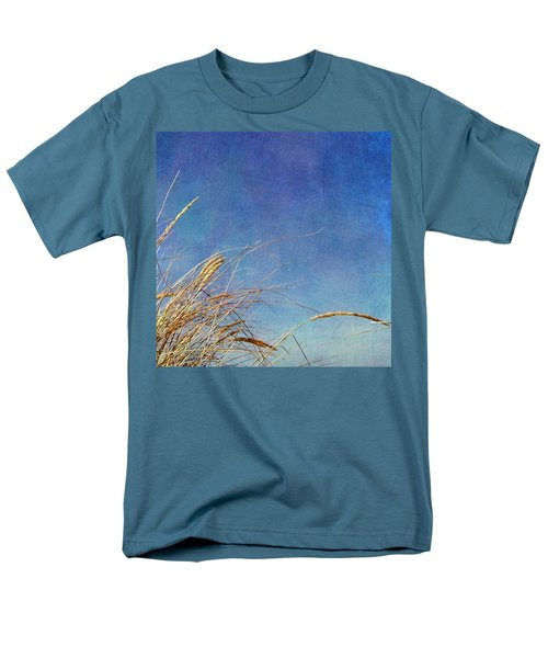 Beach Grass in the Wind T-Shirt by Michelle Calkins