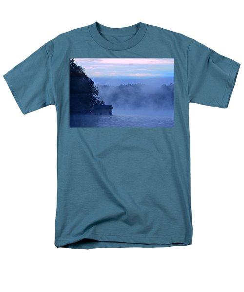 Blue Dawn Mist T-Shirt by Susan Leggett