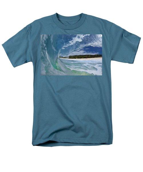 Blue Foam T-Shirt by Sean Davey