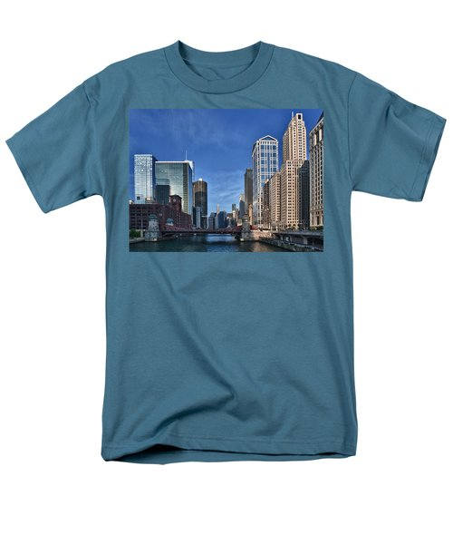 Chicago River T-Shirt by Sebastian Musial