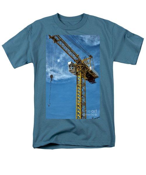 construction crane asia T-Shirt by Antony McAulay
