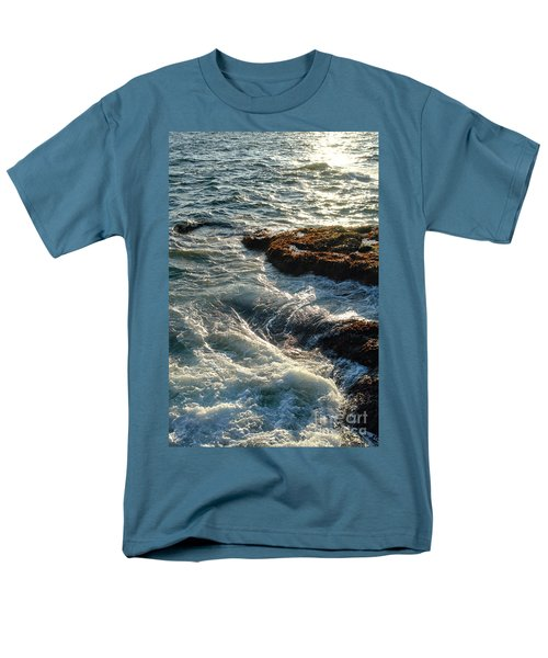 Crashing Waves T-Shirt by Olivier Le Queinec