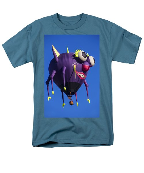 Floating purple people eater T-Shirt by Garry Gay