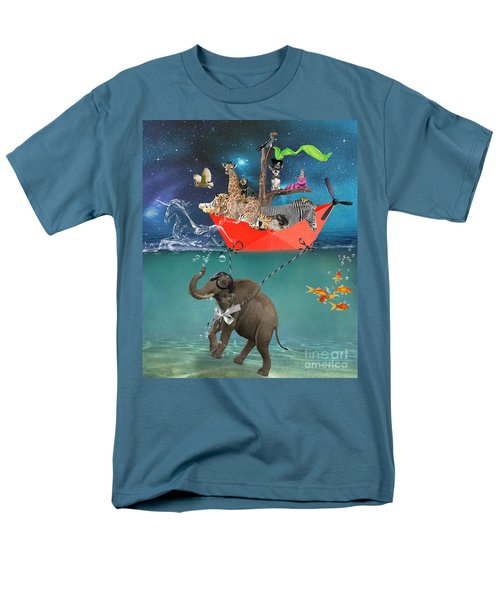 Floating Zoo Men's T-Shirt  (Regular Fit) by Juli Scalzi