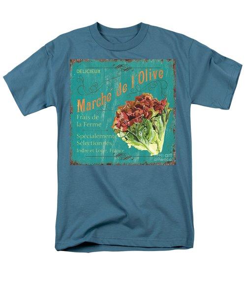 French Market Sign 3 Men's T-Shirt  (Regular Fit) by Debbie DeWitt