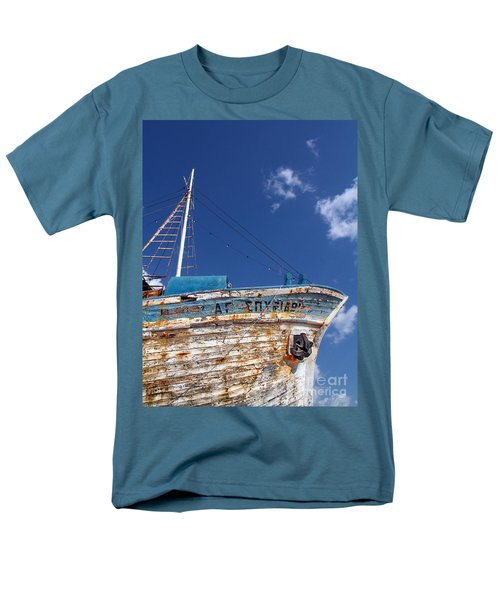 greek fishing boat T-Shirt by Stylianos Kleanthous