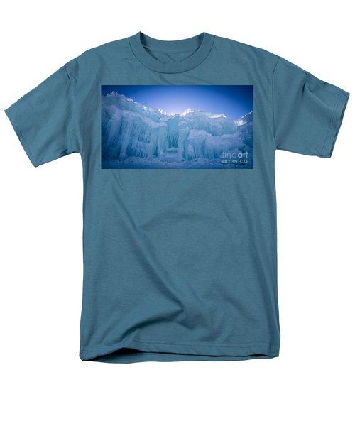 Ice Castle Men's T-Shirt  (Regular Fit) by Edward Fielding