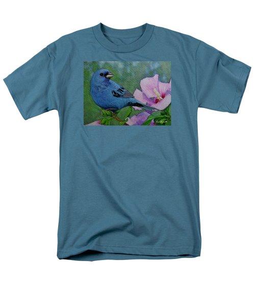 Indigo Bunting No 1 Men's T-Shirt  (Regular Fit) by Ken Everett