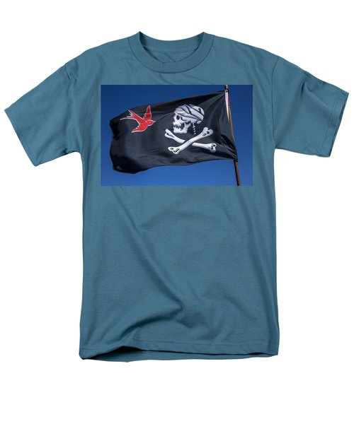 Jack sparrow pirate skull flag T-Shirt by Garry Gay
