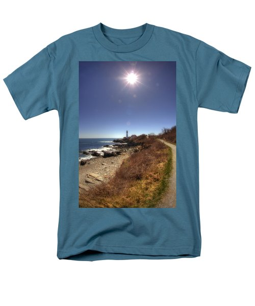 Lighthouse Path T-Shirt by Joann Vitali