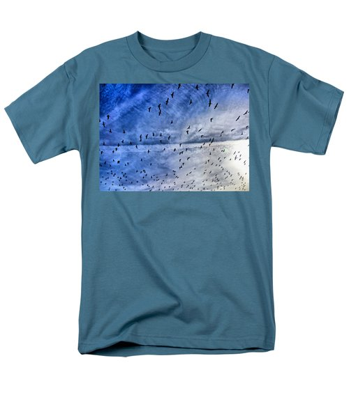 Meet Me Halfway Across The Sky 1 T-Shirt by Angelina Vick