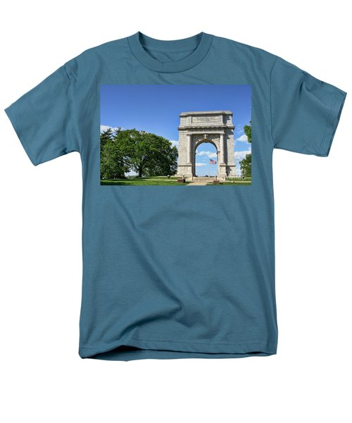 National Memorial Arch at Valley Forge T-Shirt by Olivier Le Queinec