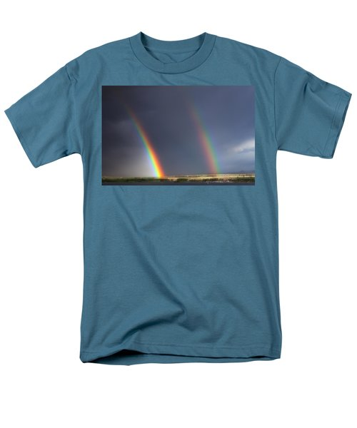 Natures Twin Towers T-Shirt by Darren  White