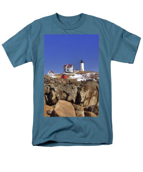 Nubble's Rocky Coastline T-Shirt by Joann Vitali