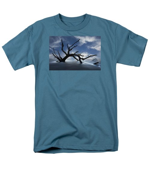 On a MIsty Morning T-Shirt by Debra and Dave Vanderlaan