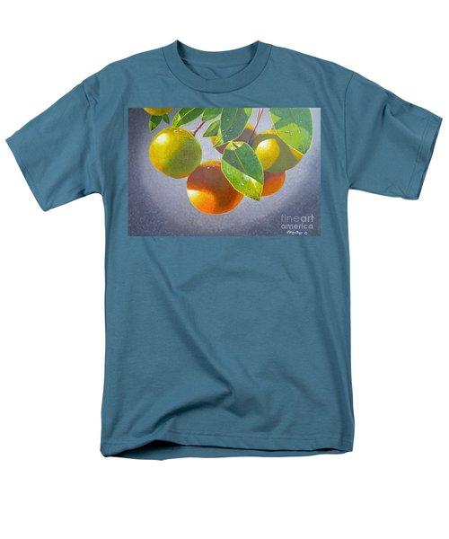 Oranges Men's T-Shirt  (Regular Fit) by Carey Chen