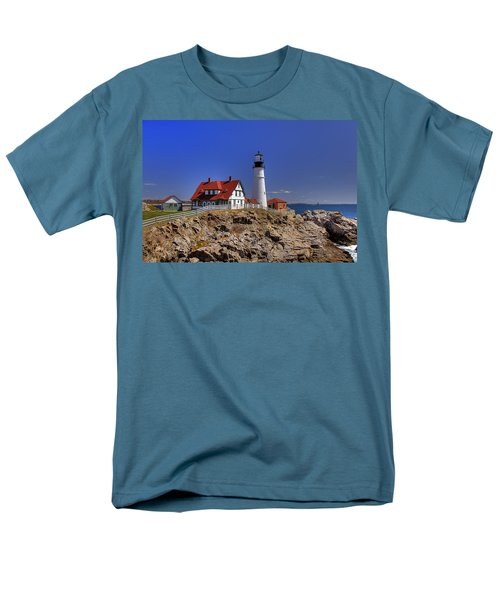 Portland Head Light 3 T-Shirt by Joann Vitali