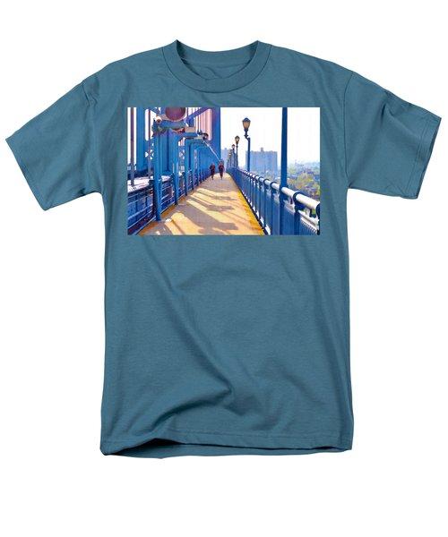 Running Across the Ben T-Shirt by Bill Cannon