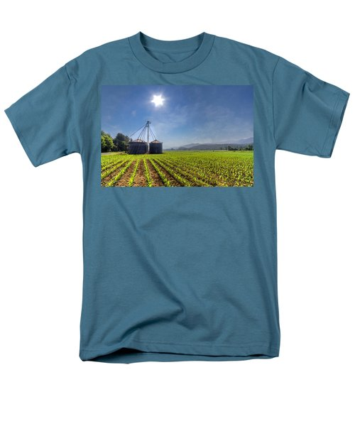 Silos T-Shirt by Debra and Dave Vanderlaan