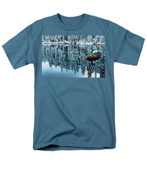 Snow Mirror T-Shirt by Eric Glaser