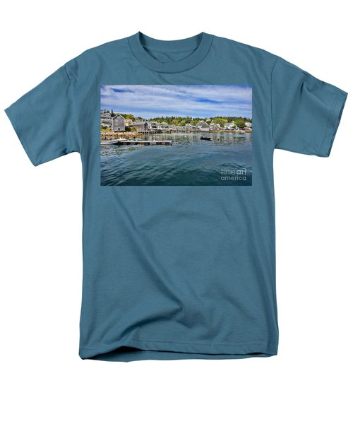 Stonington in Maine T-Shirt by Olivier Le Queinec