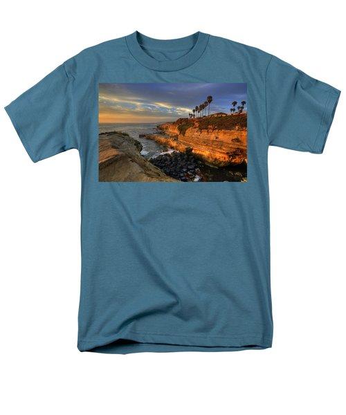 Sunset Cliffs T-Shirt by Peter Tellone