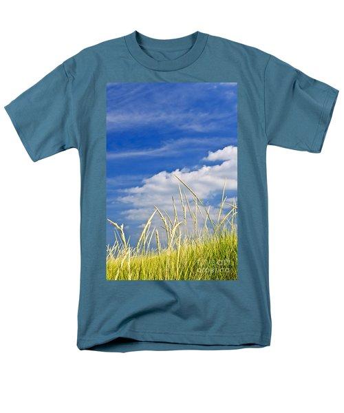 Tall grass on sand dunes T-Shirt by Elena Elisseeva