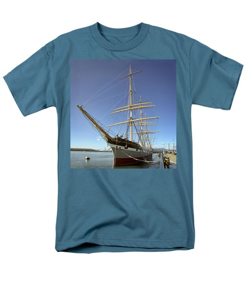 The BALCLUTHA Historic 3 Masted Schooner - San Francisco T-Shirt by Daniel Hagerman