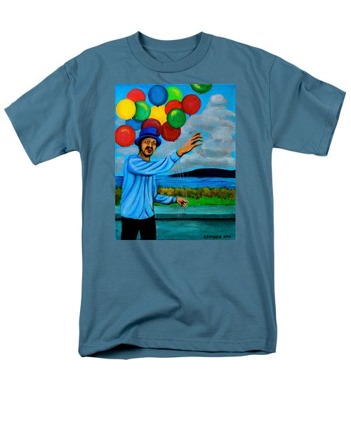 The Balloon Vendor T-Shirt by Cyril Maza