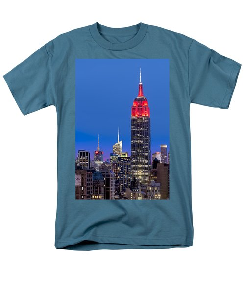 The Empire State Building T-Shirt by Susan Candelario