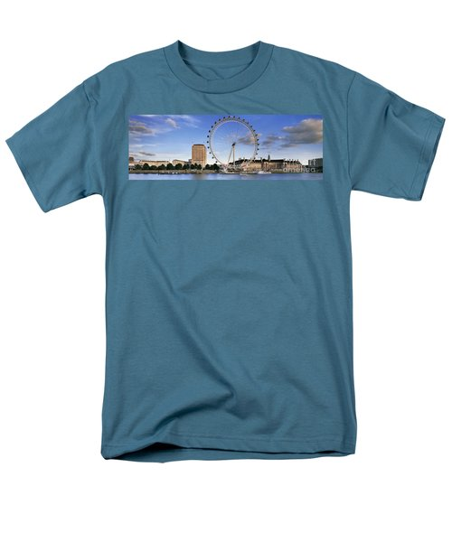 The London Eye Men's T-Shirt  (Regular Fit) by Rod McLean