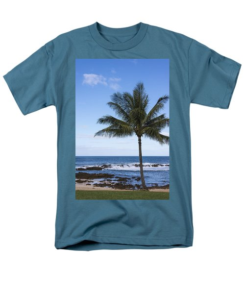 The Perfect Palm Tree - Sunset Beach Oahu Hawaii T-Shirt by Brian Harig