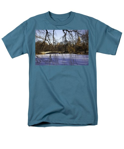 Through The Branches 1 - Central Park - NYC T-Shirt by Madeline Ellis