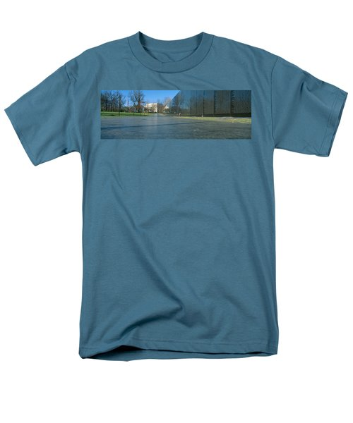 Vietnam Veterans Memorial, Washington Dc Men's T-Shirt  (Regular Fit) by Panoramic Images