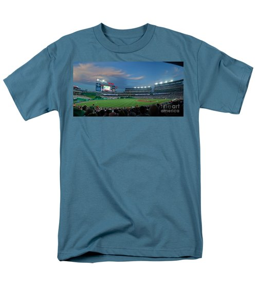 Washington Nationals in Our Nations Capitol T-Shirt by Thomas Marchessault