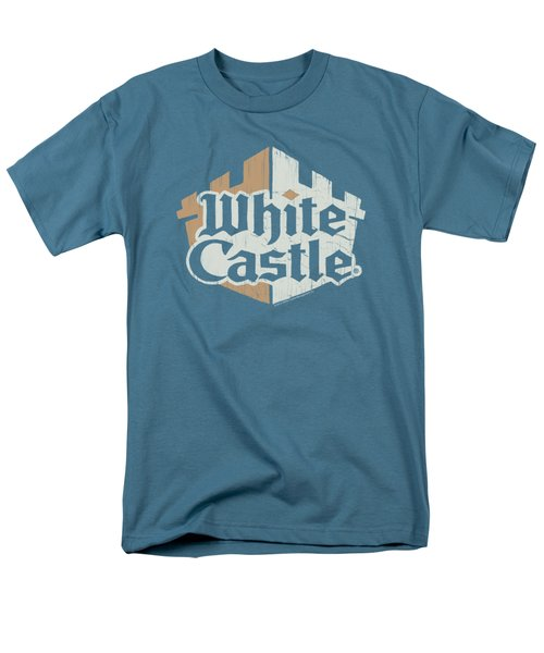 White Castle - Torn Logo Men's T-Shirt  (Regular Fit) by Brand A