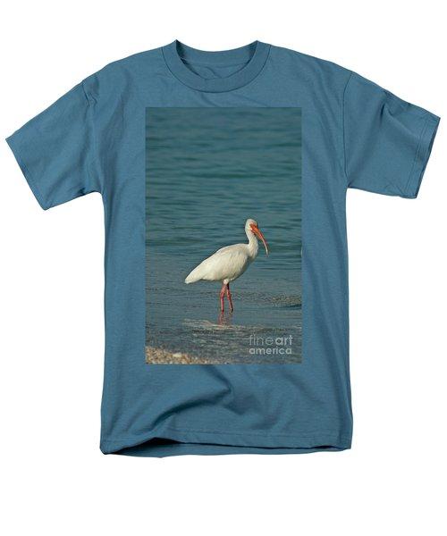 White Ibis Men's T-Shirt  (Regular Fit) by Cindi Ressler
