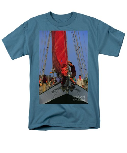 Working The Sails T-Shirt by Kathleen Struckle