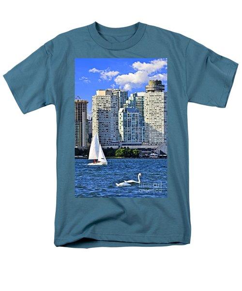 Sailing in Toronto harbor T-Shirt by Elena Elisseeva