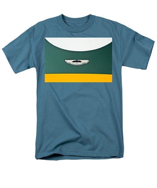 1993 Aston Martin DBR2 Recreation Hood Emblem T-Shirt by Jill Reger