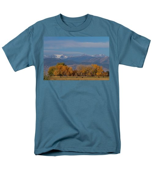 Boulder County Colorado Continental Divide Autumn View T-Shirt by James BO  Insogna