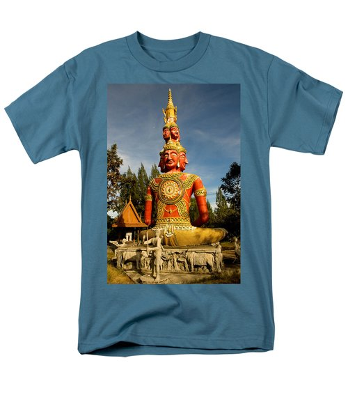 Faces of Buddha T-Shirt by Adrian Evans